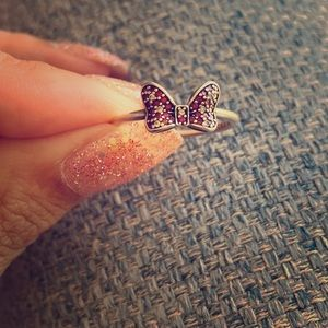 Pandora Minnie Mouse Bow Ring